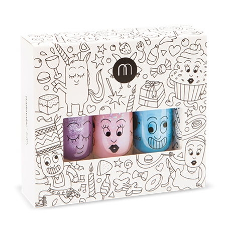 Picture of Nailmatic® Nail Polish Gift Set Party