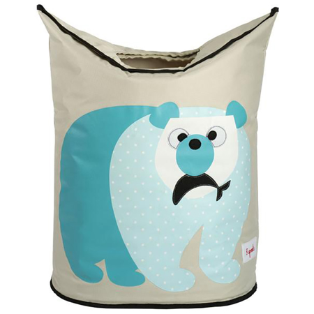 Picture of 3Sprouts Laundry Hamper - Polar Bear