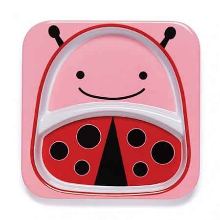 Skip Hop® Otroški deljeni krožnik Pikapolonica