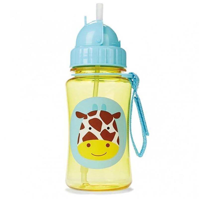 Immagine di Skip Hop® Borraccia con cannuccia Giraffa