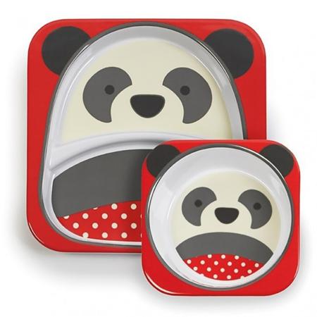 Immagine di Skip Hop® Set scodella e piattino Panda
