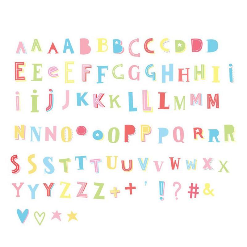 Immagine di A Little Lovely Company® Lightbox set lettere e numeri