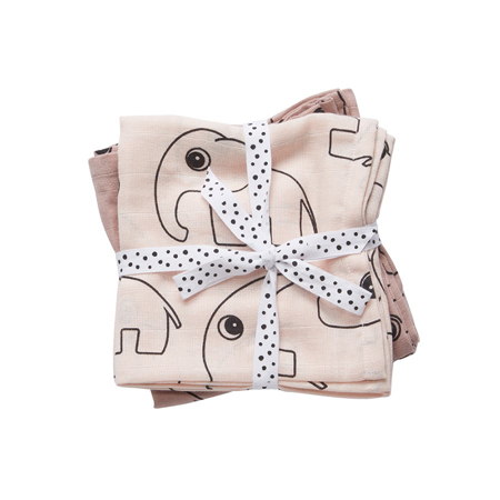 Picture of Done by Deer®  Swaddles 2-Pack Contour