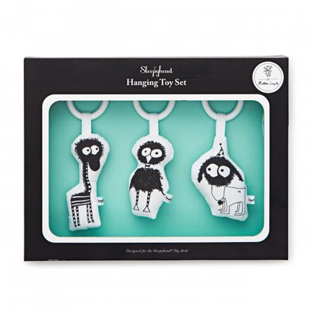 Slika Sleepyhead® Set treh aktivnostnih igračk Fuzzy Pals