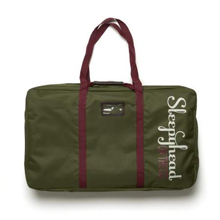Sleepyhead® On the go borsa porta nido Grand - Verde oliva
