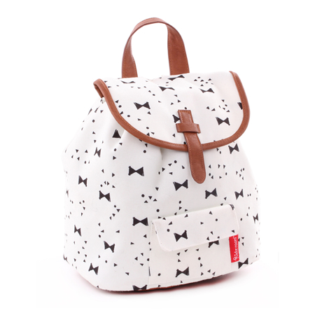 Picture of Kidzroom® Backpack Black&White Bows