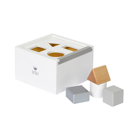 Picture of BamBam® Wood Block Box White