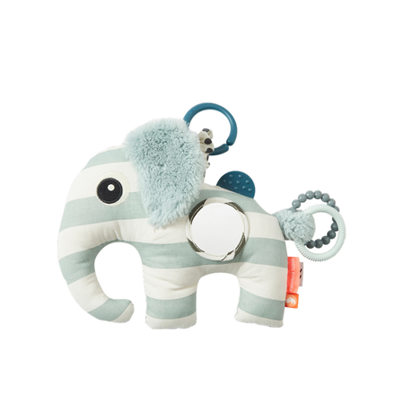 Picture of Done by Deer® Activity Soft Toy Elphee Blue