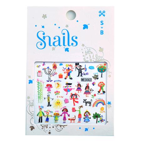 Immagine di Snails® Stickers per unghie Baby Art