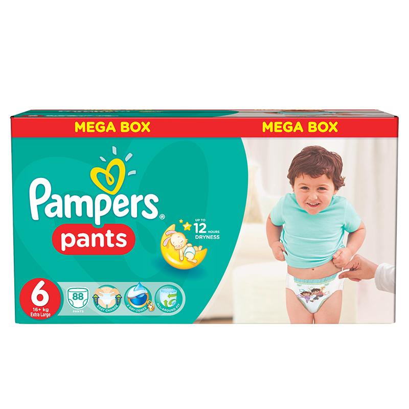 Immagine di Pampers® Pannolini la Mutandina taglia 6 (16+ kg) Mega Box 88 pz.