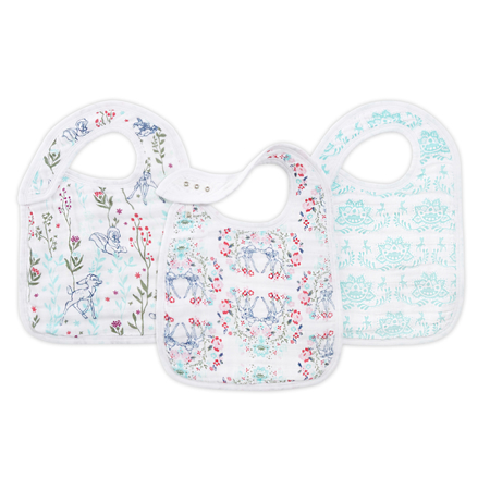 Picture of Aden+Anais® Classic Snap Bib 3-Pack Bambi