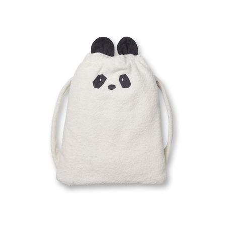 Immagine di Liewood® Zaino asciugamano Thor Panda Creme de la Creme 135x72
