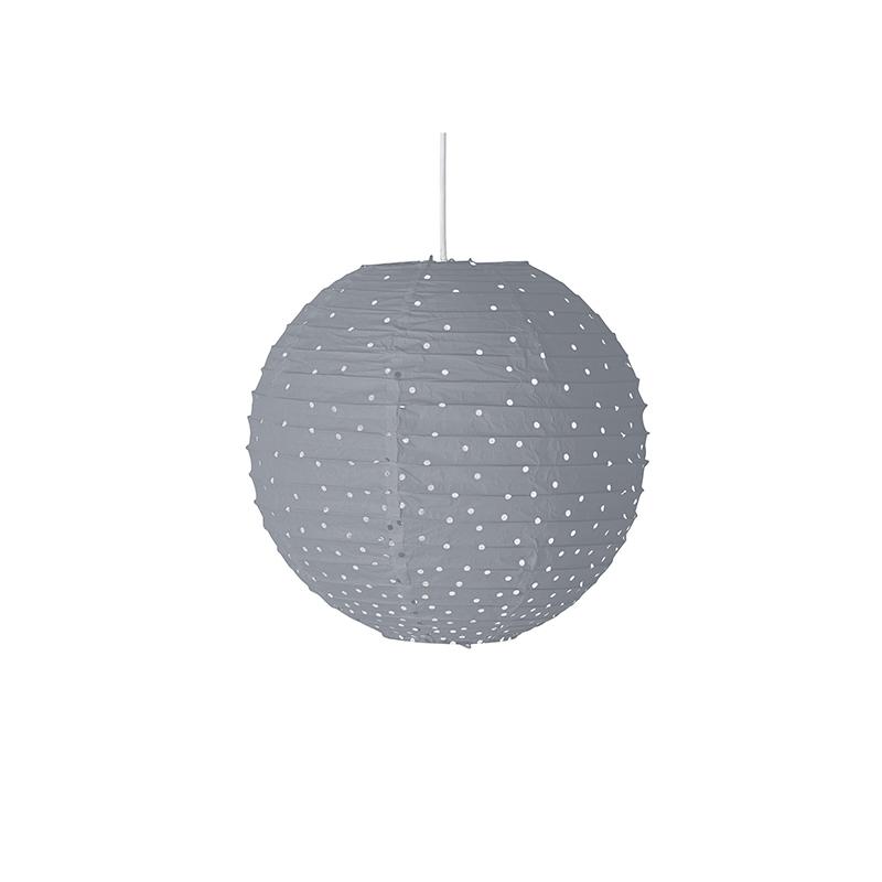 Bloomingville® Viseča svetilka Gray O20 cm