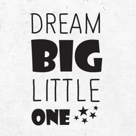 Immagine di Pick Art Design® Adesivo da parete Dream Big