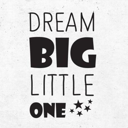 Immagine di Pick Art Design® Adesivo da parete Dream Big