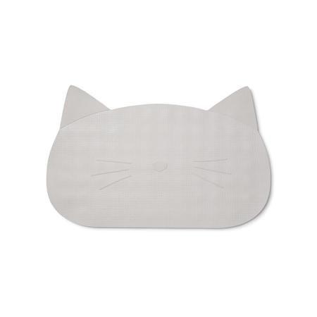 Slika Liewood® Silikonska podloga proti drsenju za kopel Cat dumbo Grey