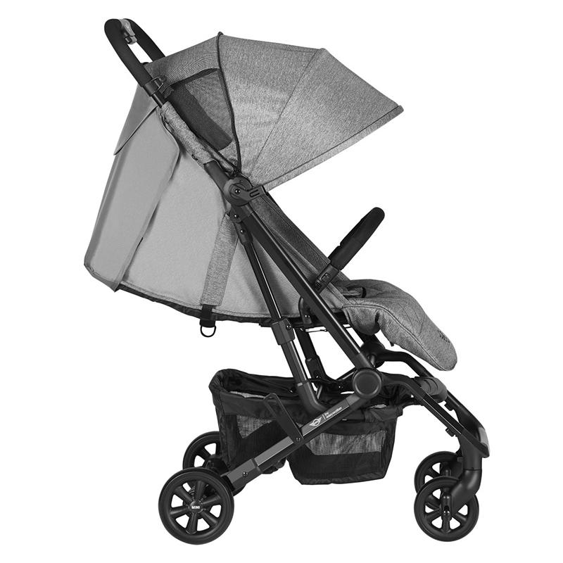 Easywalker® Otroški voziček MINI XS Soho Grey
