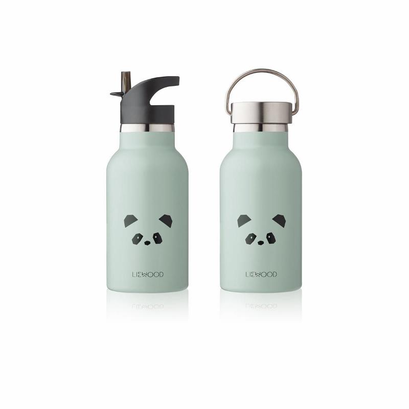 Immagine di Liewood® Bottiglia in acciaio inossidabile Panda Dusty Mint