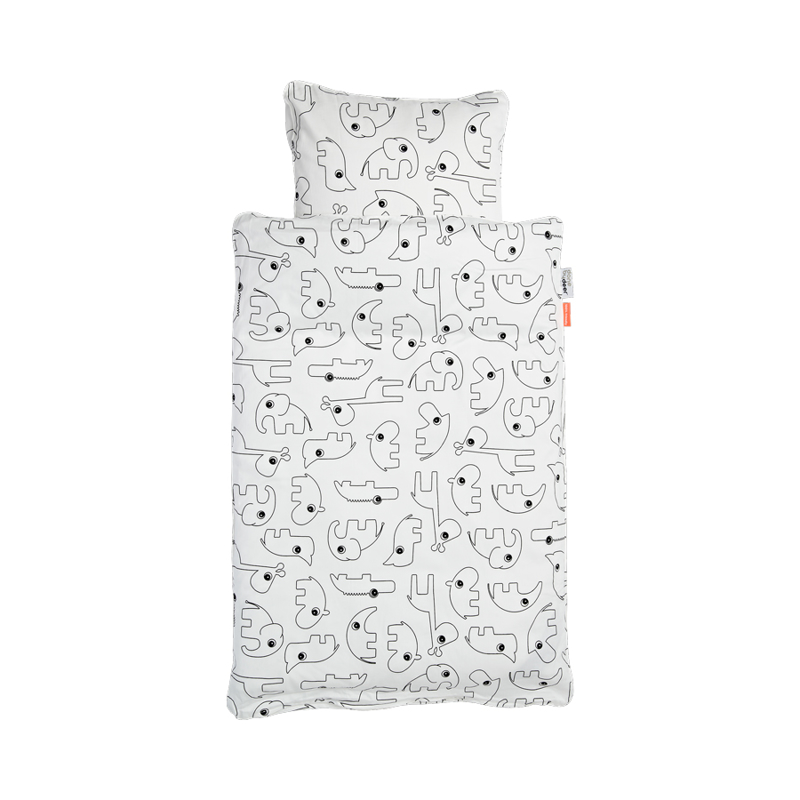 Picture of Done by Deer® Contour Bedlinen White (70x100)