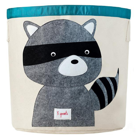 Picture of 3Sprouts® Storage Bin Raccoon