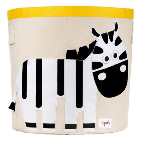 Immagine di 3Sprouts® Contenitore giocattoli Zebra