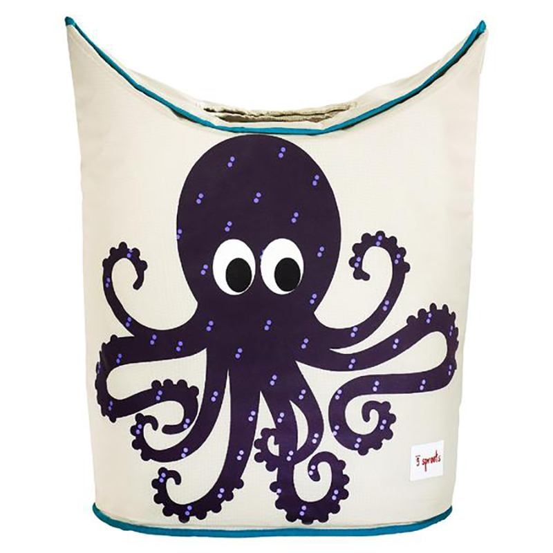 Picture of 3Sprouts Laundry Hamper - Octopus