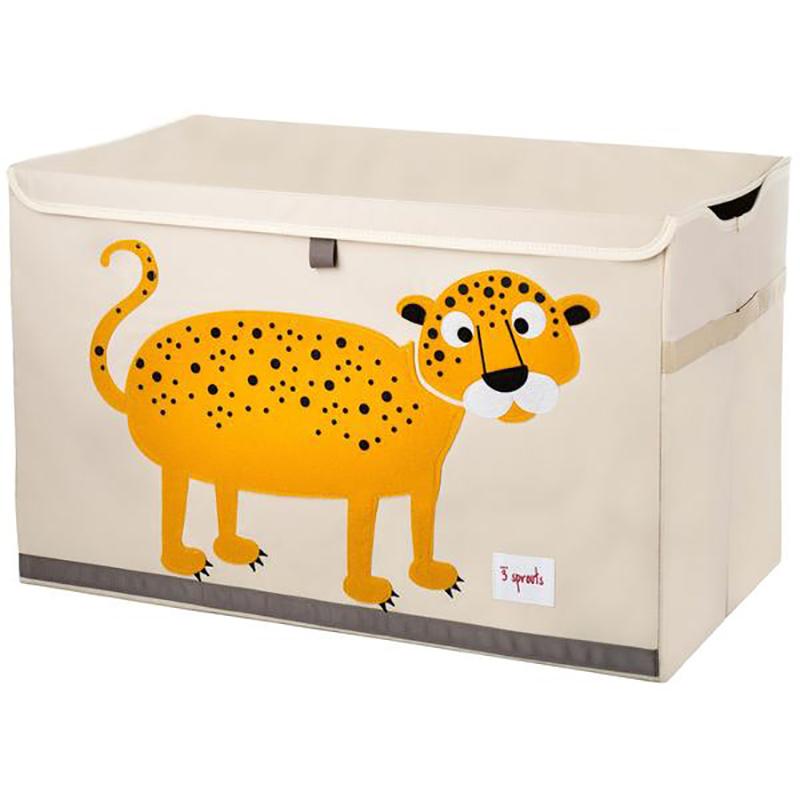 Immagine di 3Sprouts® Contenitore giocattoli Leopardo
