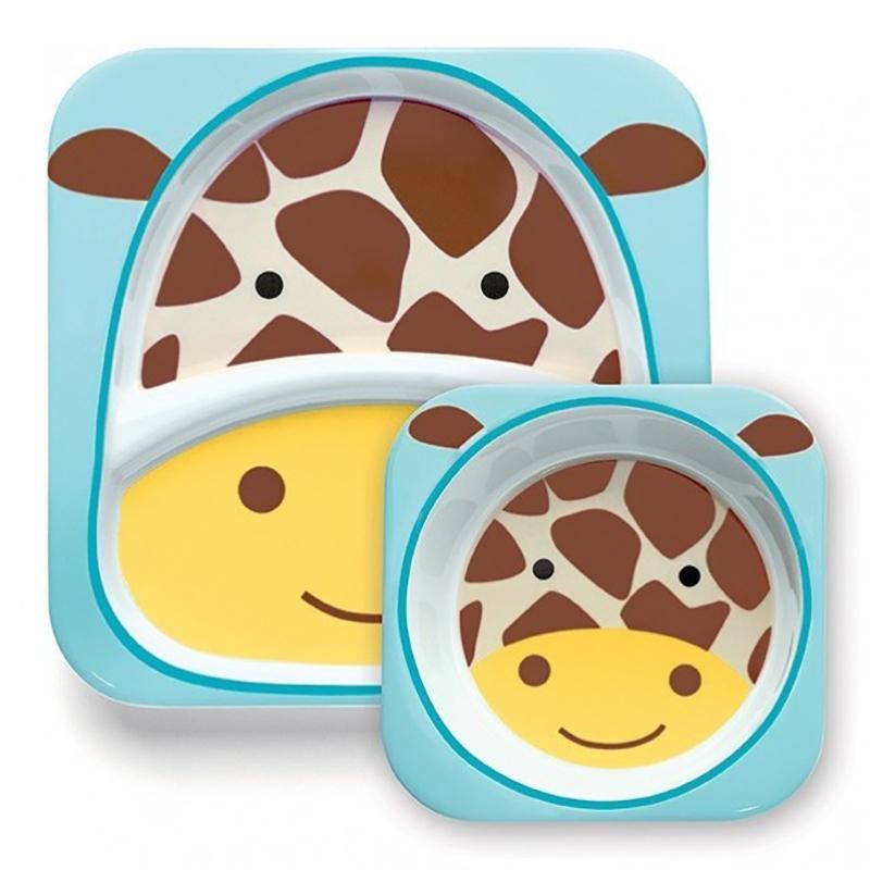 Immagine di Skip Hop® Due piattini Giraffa