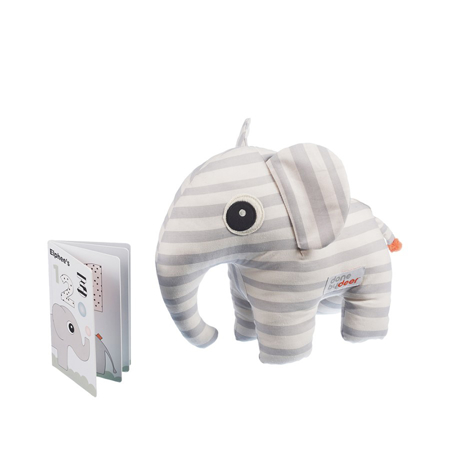 Immagine di Done by Deer® Elefante Elphee con libro