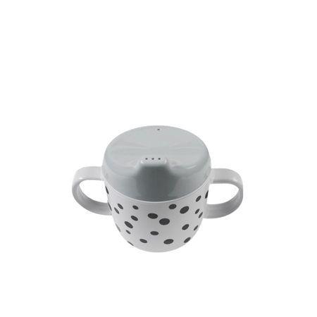 Immagine di Done by Deer® Tazza per bambini con due manici Happy Dots