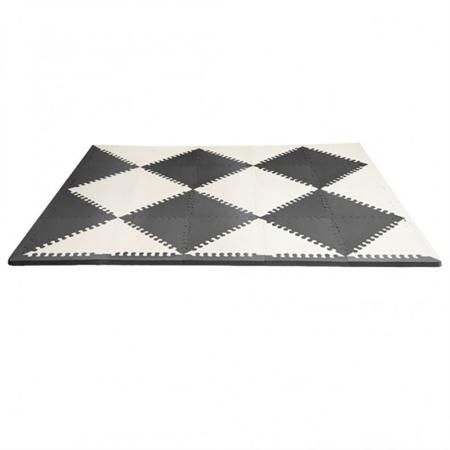 Picture of Skip Hop® Playspot Geo Foam Floor Tiles Black/Cream
