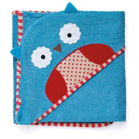Immagine di Skip Hop® Asciugamano con cappuccio a Civetta