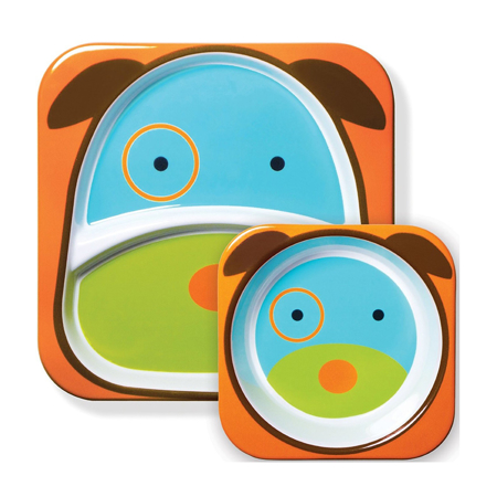 Immagine di Skip Hop® Set scodella e piattino Cagnolino