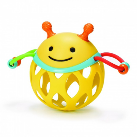 Picture of Skip Hop® Explore&More Roll-Around Rattles Bee