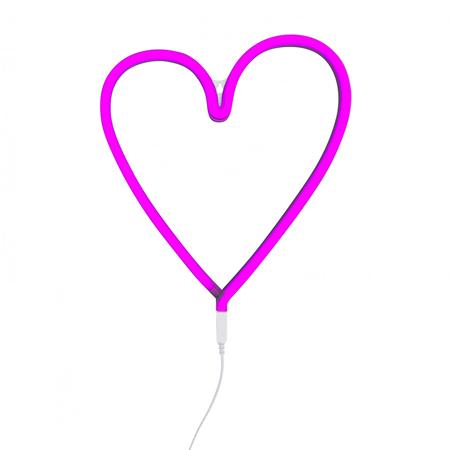 Immagine di A Little Lovely Company® Luce Cuoricino - Rosa
