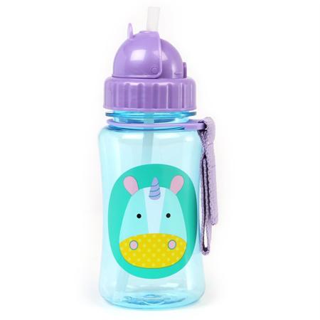 Slika Skip Hop® Steklenička s slamico Samorog