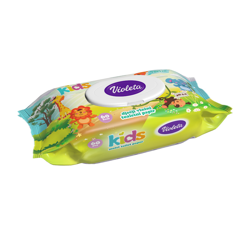Immagine di Violeta® Kids Carta igienica umidificata  60/1