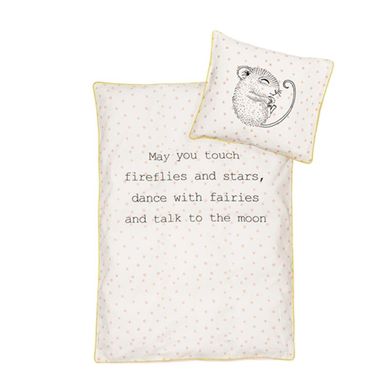 Immagine di Bloomingville® Biancheria da letto  con cuscino Baby Linen Rosa