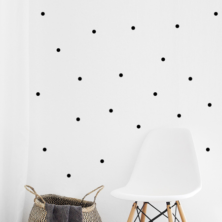 Picture of Pick Art Design® Wall Sticker Black Circles