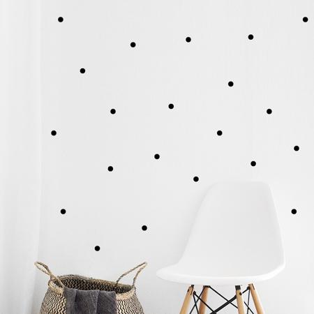 Immagine di Pick Art Design® Adesivo da parete Circoli Neri