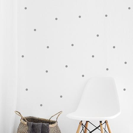 Immagine di Pick Art Design® Adesivo da parete Circoli Grigi