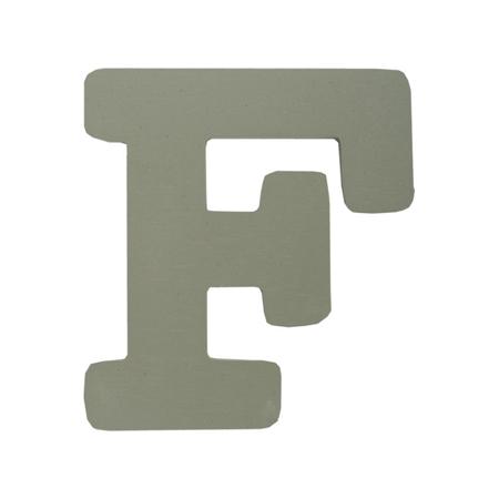Immagine di BamBam® Lettere di legno Grigie - F
