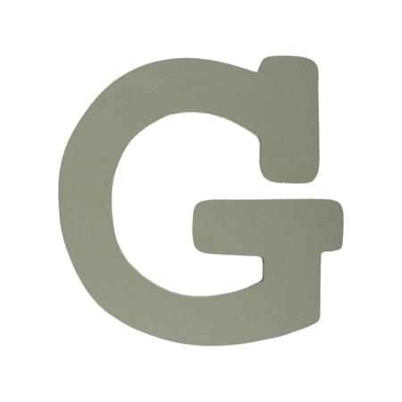 Immagine di BamBam® Lettere di legno Grigie - G