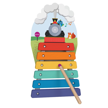 Picture of Oribel® Vertiplay Wall Toy Musical Rail Track