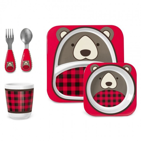 Immagine di Skip Hop® Set pappa Winter Gift Orsetto