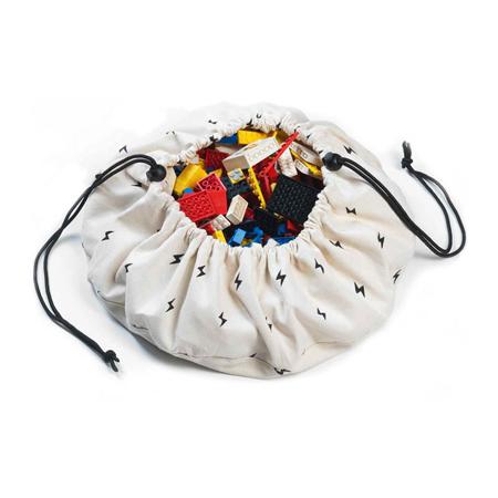 Immagine di Play&Go® Mini sacco portagiochi e Tappeto Thunderbolt