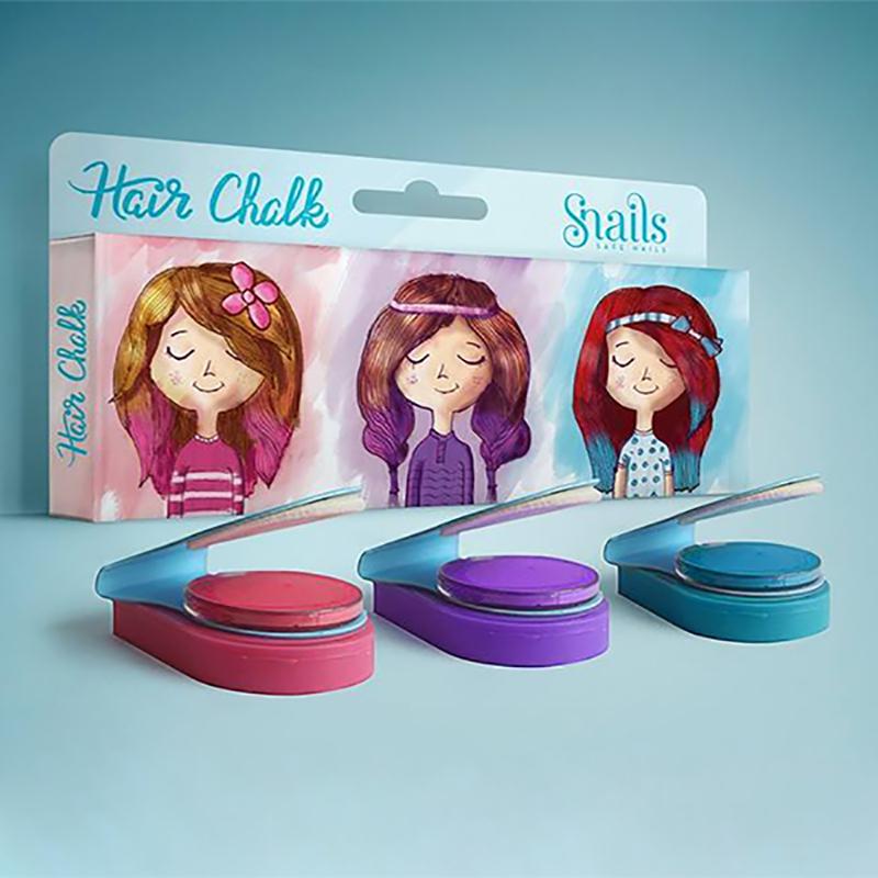 Immagine di Snails® Set 3 gessetti colorati per capelli
