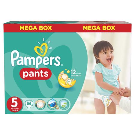 Immagine di Pampers® Pannolini la Mutandina taglia 5 (12-18 kg) Mega Box 96 pz.