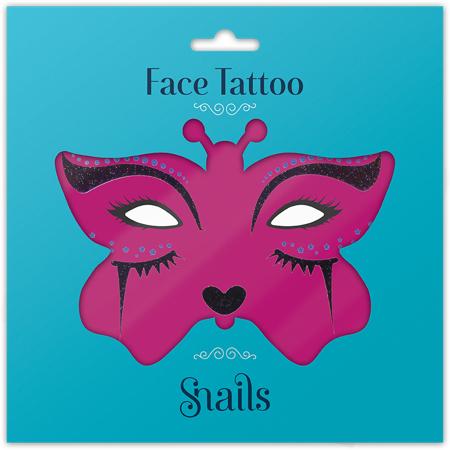 Immagine di Snails® Adesivi per il viso Midnight Cat