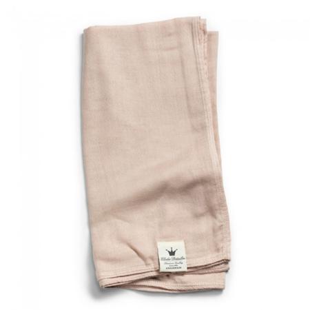 Slika Elodie Details® Mehka muslin odejica Powder Pink 80x80